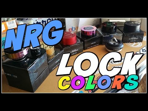 NRG QUICK RELEASE & LOCK ALL COLORS