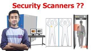 How Metal Detector, Baggage Scanner and Full Body Scanner Works ? Urdu/Hindi