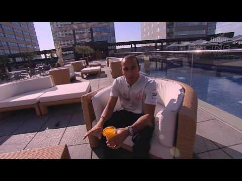 Lewis Hamilton's Hilton Crib