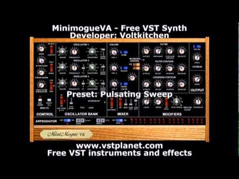 MiniMogueVA - Free VST synth - vstplanet