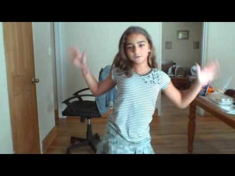 foto de me dancing to somthing to dance for YouTube