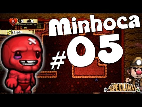 Spelunky [Gameplay Comentada] - #05 Meat Boy (personagem secreto)