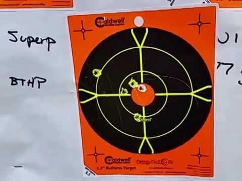 Testing some AR-15 match grade ammo