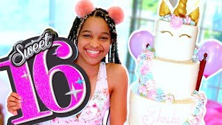Shasha's SWEET 16 BIRTHDAY PARTY! - Onyx Family