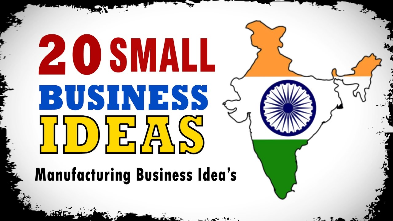 Best Small Business Ideas In India To Start Business For   Youtube