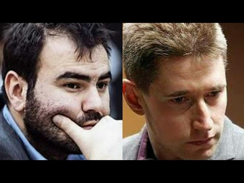 FIDE MOSCOW GRAND PRIX 2017 | Mamedyarov Crushes Micky Adams | Round 3
