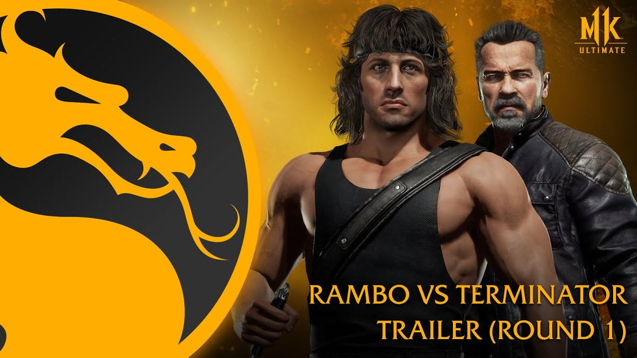 New Mortal Kombat 11 Ultimate Trailer Debuts Marquee Matchup – Rambo vs. Terminator!