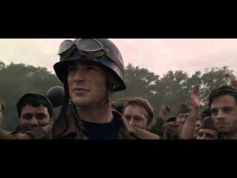 Let's hear it for Captain America!