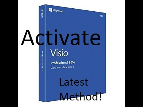 Microsoft Visio Easy Activation save $590! Latest Method 2017
