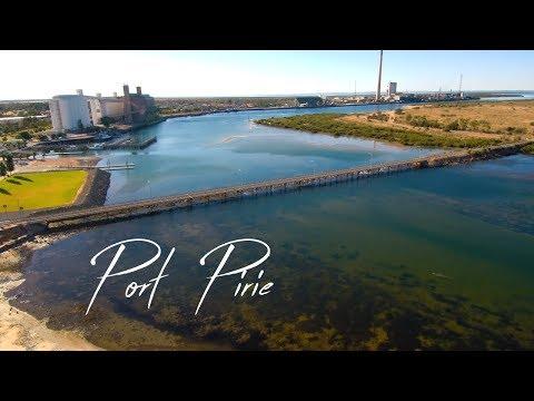 Port Pirie 4k drone footage