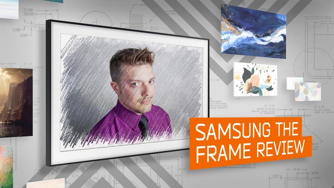video Samsung QLED Frame 43LS03T (2020)
