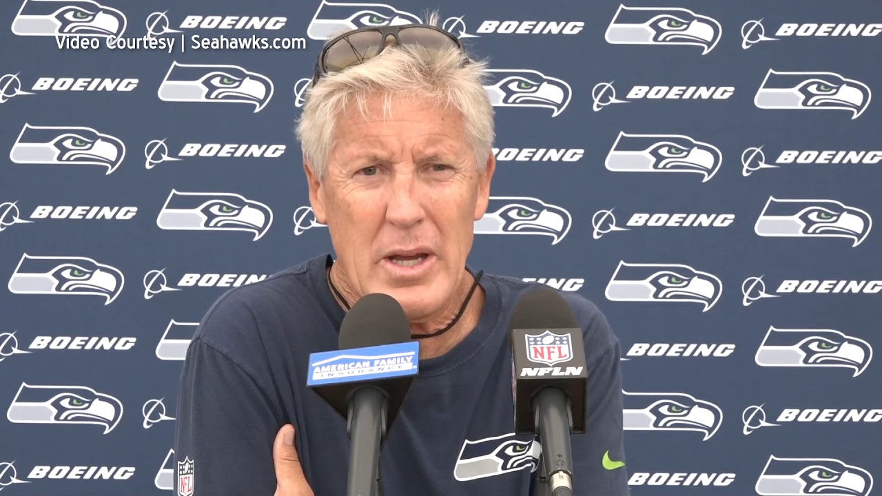Pete Carroll on Playing Time 2019-08-07
