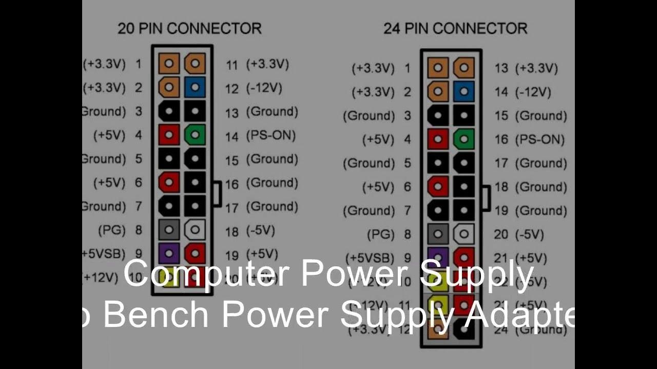 Converting Atx Power Supply To Lab Bench Youtube 12v 3v Convertor