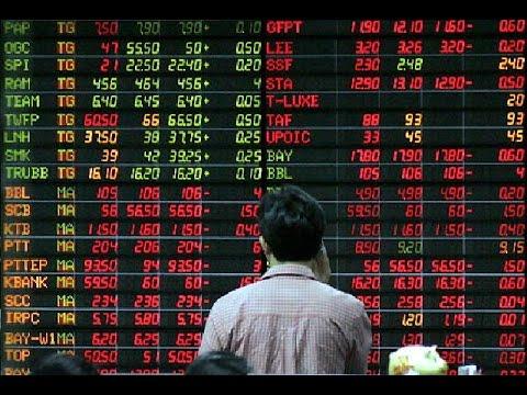 หุ้นไทยปิดลบ 9.68 จุด กังวลปัจจัยจากจีน