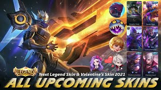 MOBILE LEGENDS ALL UPCOMING SKINS 2021 - MARCH STARLIGHT SKIN 2021 | ML LEAKS 2021