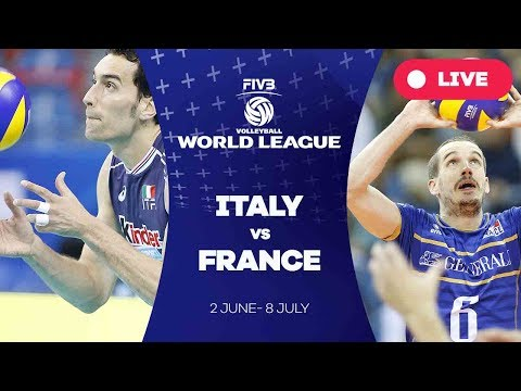 Italy v France - Group 1: 2017 FIVB Volleyball World League