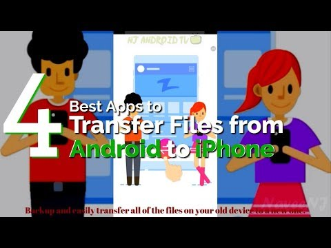 4 Best Apps To Transfer Files From Android To IPhone [Android/iOS]