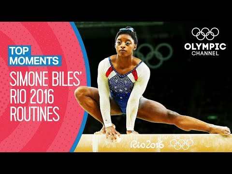 Simone Biles' Rio 2016 individual all-around Final routines | Top Moments