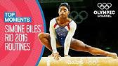 SimoneBiles&#39 Rio 2016 individual all-around Final routinesTop Moments