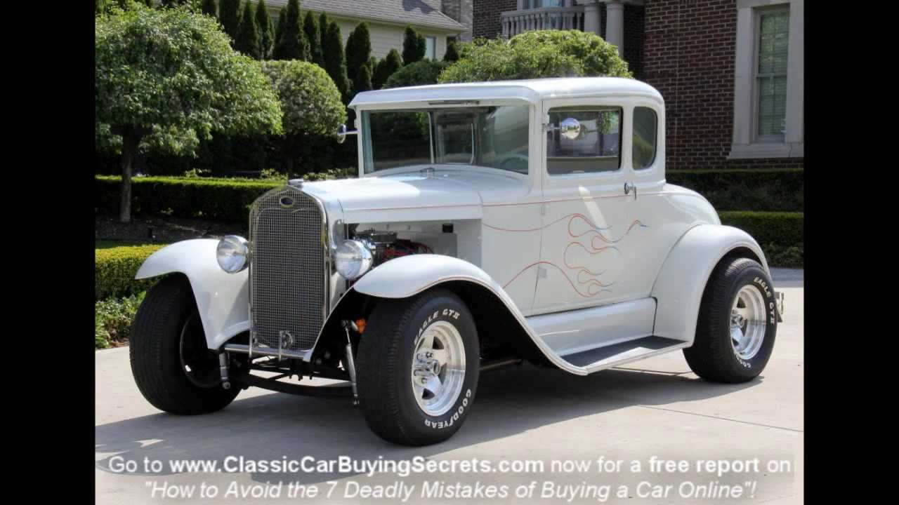 1931 Ford Street Rod Classic Muscle Car for Sale in MI Vanguard ...