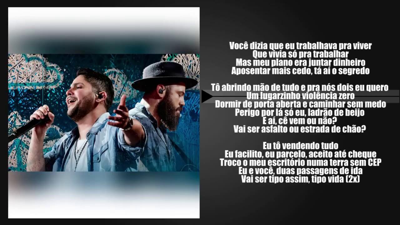 Jorge Mateus Terra Sem Cep Letra Segmento De Frase Youtube