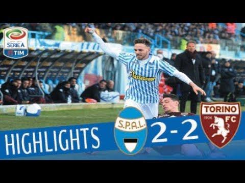 SPAL - Torino 2-2 - Highlights - Giornata 18 - Serie A TIM 2017/18