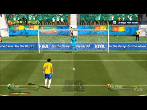 2014 FIFA World Cup Brazil  Cameroon vs Brazil Gameplay HD