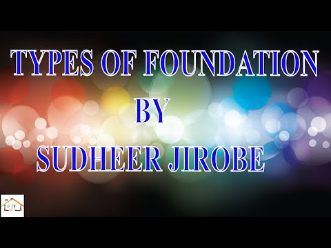 classification and Types of Foundation in civil engineering