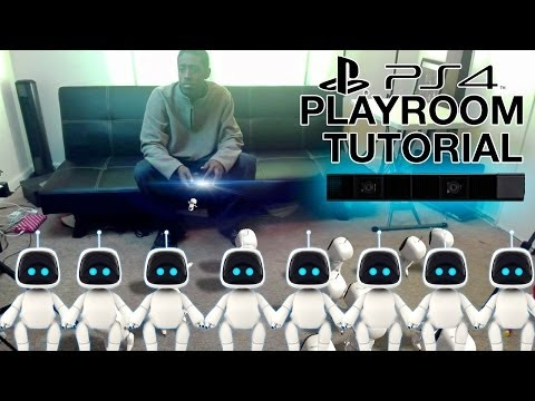 (PS4) PLAYROOM TUTORIAL