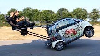 Caballitos en coche