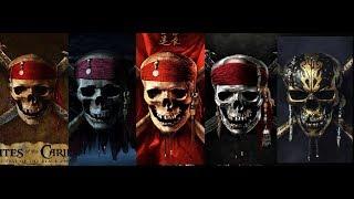 Пираты Карибского Моря  Все трейлеры | Pirates of the Caribbean All trailers | RUS-ENG | 4K 2018