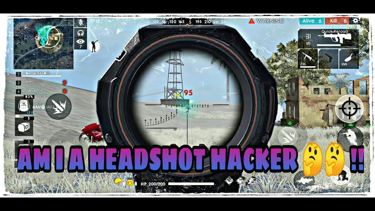 New Hack Free Fire Auto Headshot Everywhere No Root 1000