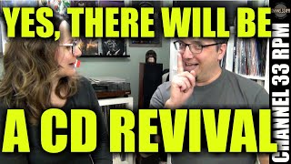 CD REVIVAL IS COMING! Plus reissue vinyl vs original, yodeling and MORE | AMA