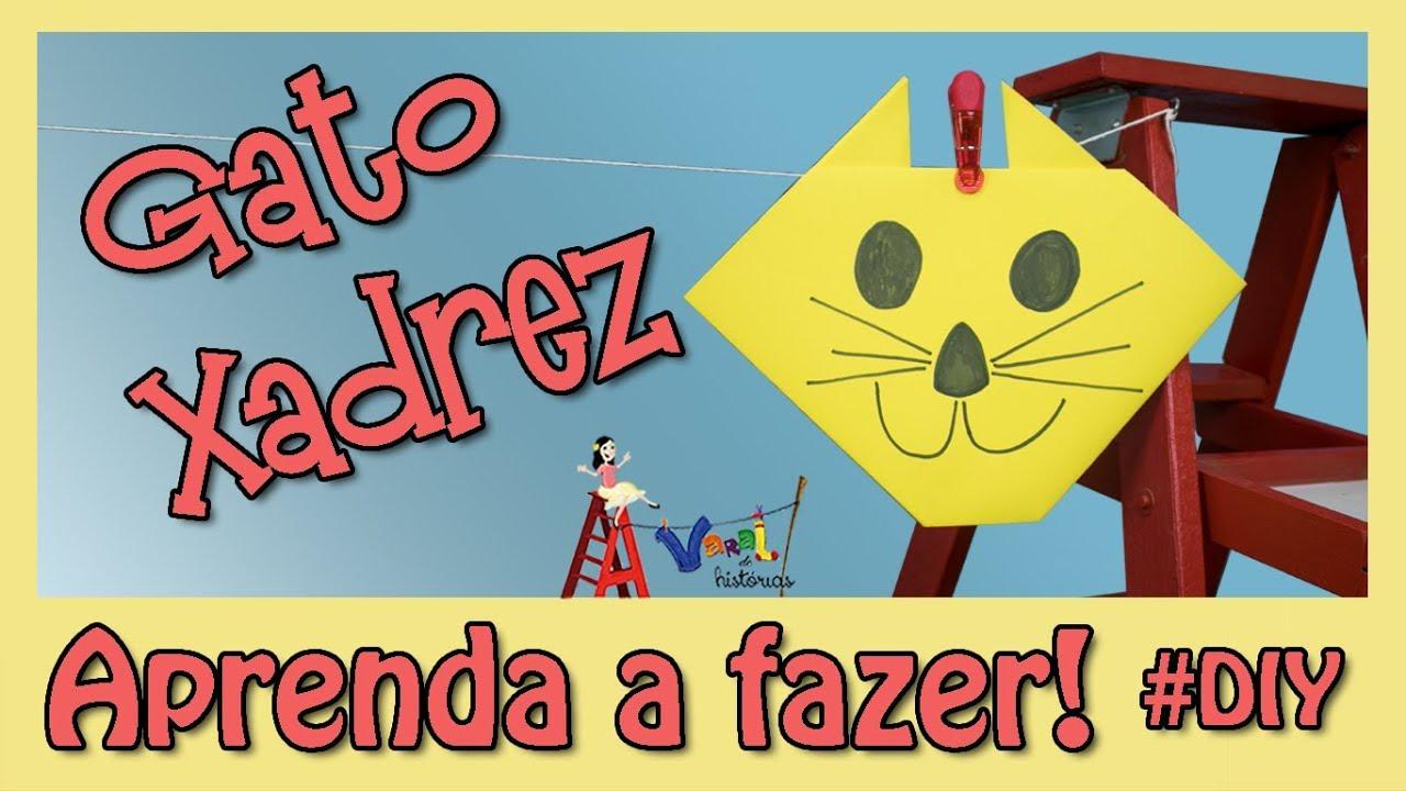 Gato Xadrez Oficina Do Varal De Historias Youtube
