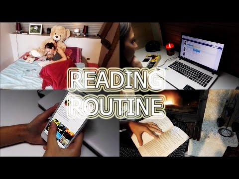 READING ROUTINE | ROUTINE LIVRESQUE