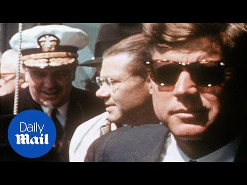 President Kennedy wears shades on board Navy ship in 1962 - Daily Mail