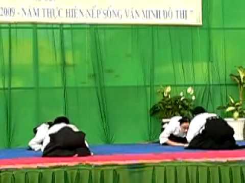 63 năm Ngày thể thao Việt Nam - Phần 1/3 - Aikido Meidokan Dojo 合気道明道館道場