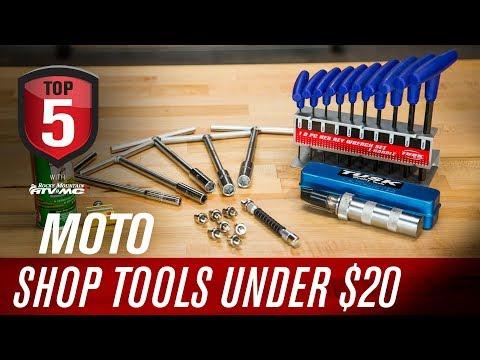 Top 5 Motorcycle Shop Tools Under $20