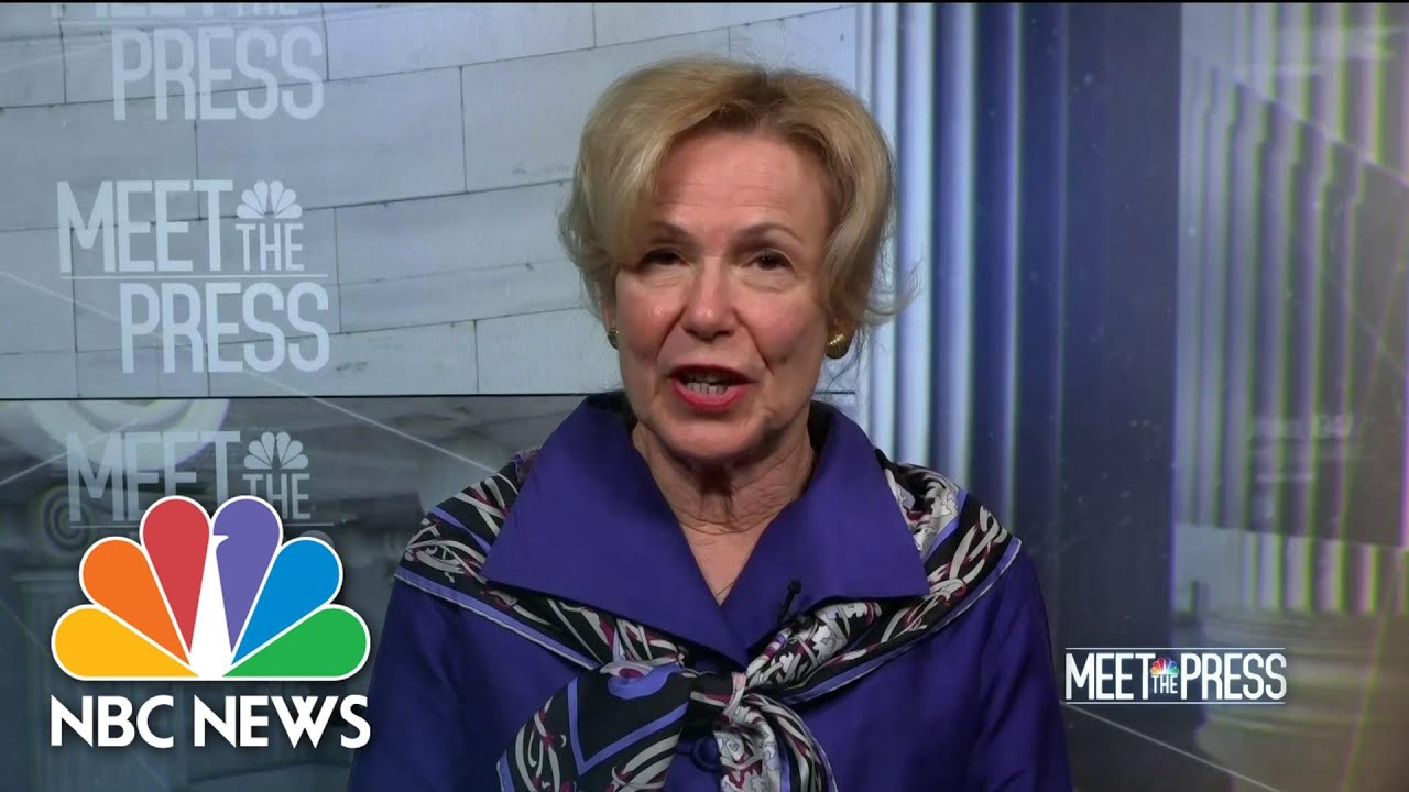 Full Birx: Every Metro Should 'Assume' An Outbreak Like New York | Meet The Press | NBC News thumbnail