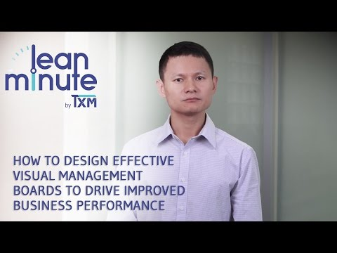How To Design Effective Visual Management Boards To Drive Improved Business Performance