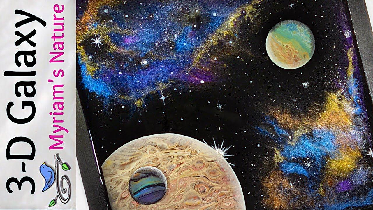 50 Resin Amp Acrylic Galaxy Tutorial Mica Nebula Dirty