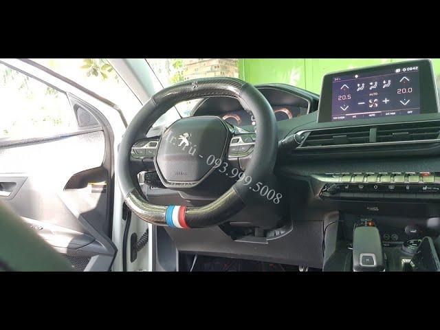 Hướng dẫn bọc vô lăng cờ Pháp xe Peugeot 5008 Peugeot 3008 all new