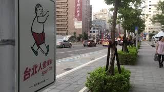 台北市南京東路四段 燈桿運動文宣