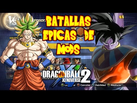 DRAGON BALL XENOVERSE 2 : DIRECTO 200 MODS EN BATALLA DEFINITIVA GOKU VS BLACK SSJ DIOS | RAFYTA