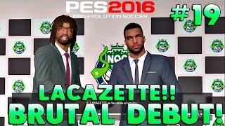 PES 2016 ML | NUEVAS EQUIPACIONES! LLEGA LACAZETTE Y DEBUT BESTIAL!! #19