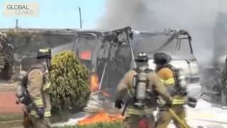 Fire engulfs firefights 2014