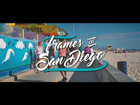 Frames of SAN DIEGO | California 4K