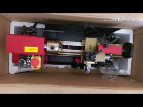 Mesin bubut mini lathe sieg c2-300 c2 300