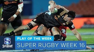PLAY OF THE WEEK: 2018 Super Rugby Week 16