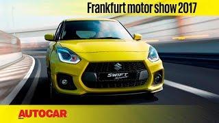 Suzuki Swift Sport   Frankfurt Motor Show 2017   Autocar India